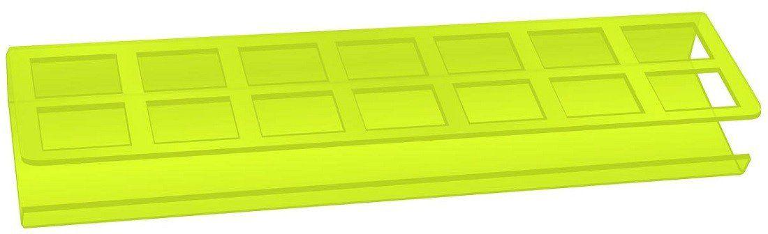 Expositor de Esmaltes Verde Limão com 14 cavidades - Santa Clara