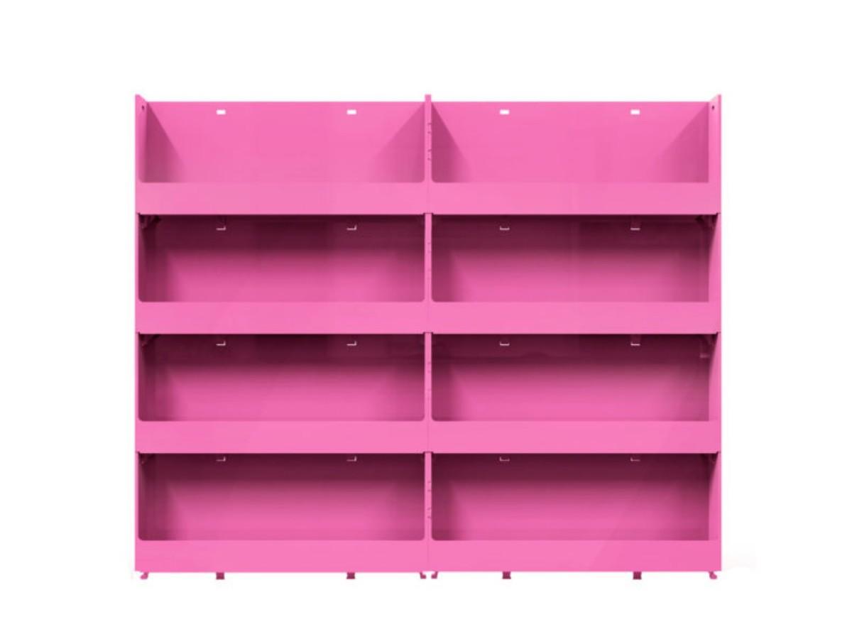 Expositor de Parede Para Esmaltes 8 bandejas - Pink