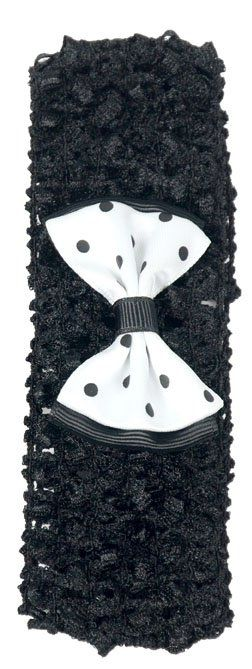 Faixa Black Luxo Infantil Para Cabelos - Importada
