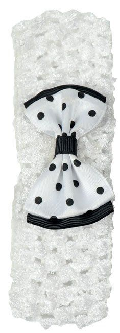 Faixa White Luxo Infantil Para Cabelos - Importada