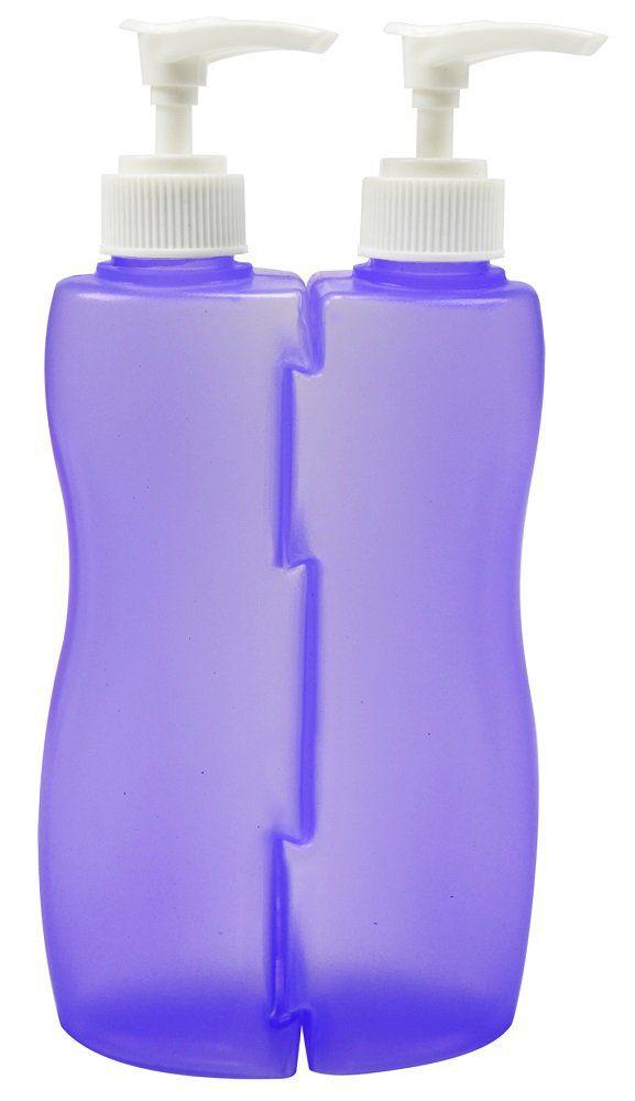 Frascos Multiuso Vazio Com Válvula Pump 210ml - 2 Unidades