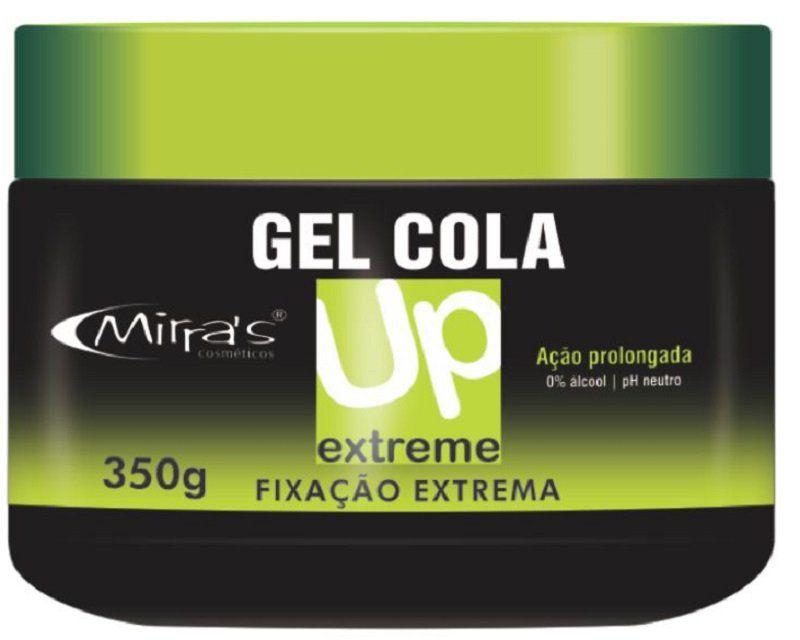 Gel Cola UP Fixação Extrema 350g - Mirra´s