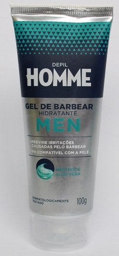 Gel de Barbear Hidratante Depil Homme Masculino - Depil Bella 100g