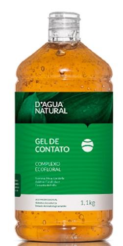 Gel De Contato Complexo Ecofloral - 1,1Kg D´Água Natural