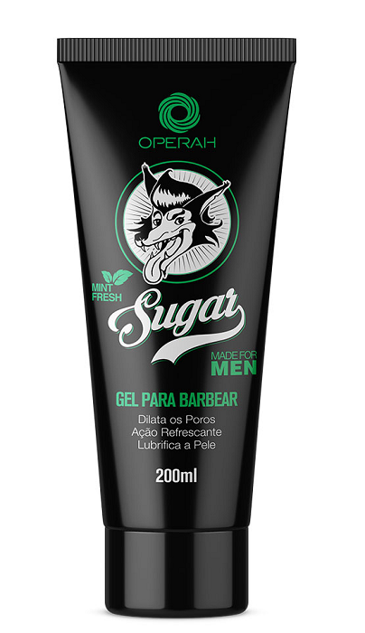Gel Para Barbear Sugar – 200ml