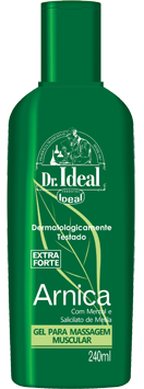 Gel para Massagem Muscular Arnica Dr Ideal - 240ml