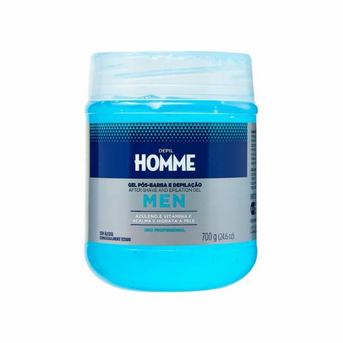 Gel Pós Barba e Depilação Depil Homme - 700g