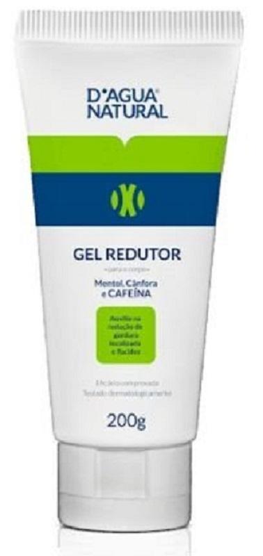 Gel Redutor de Medidas e Celulite com Cafeína - 200g Dagua Natural