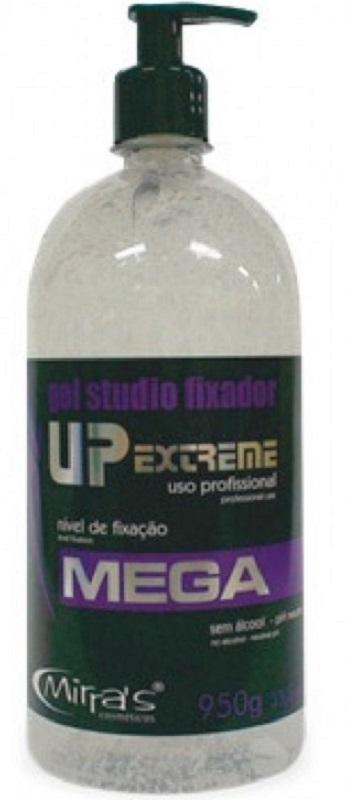 Gel Studio Fixador UP Extreme Sem Álcool Incolor 950gr - Mirra´s