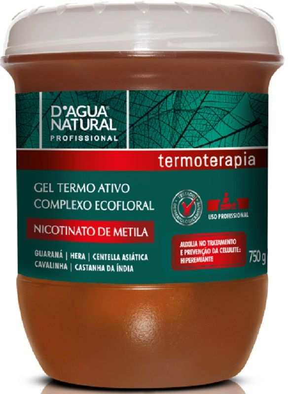 Gel Termo Ativo Eco Floral Nicotinato De Metila para Celulite - Dagua Natural