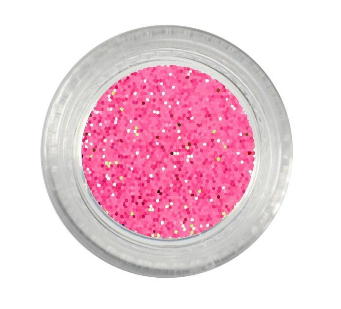 Pote Com Glitter Para Decorar Unhas Formato Redondo