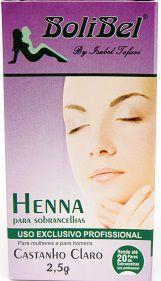 Henna Para sobrancelhas Castanho Claro