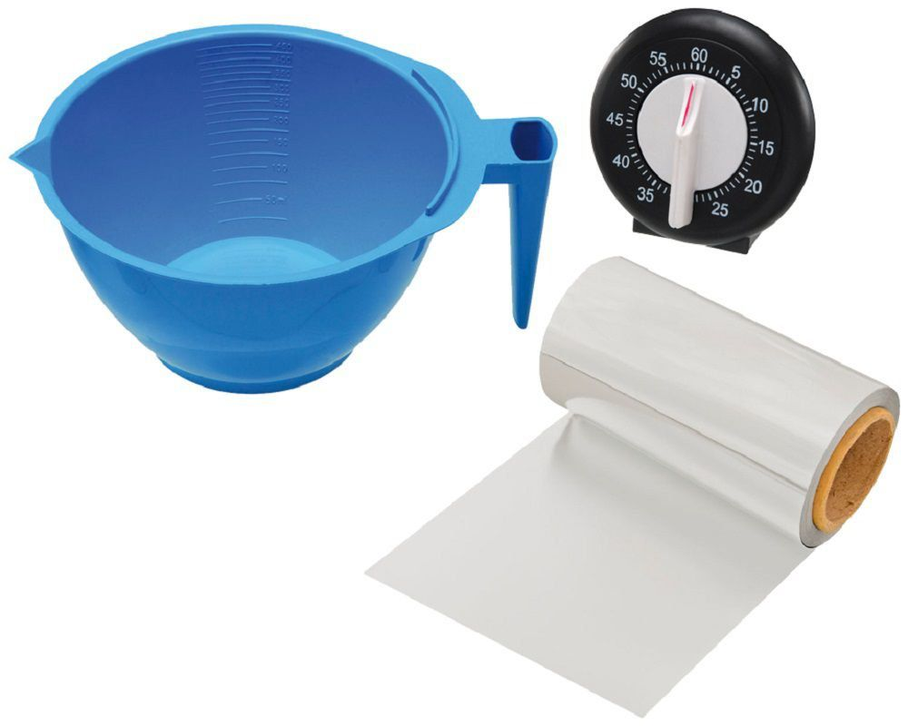 Kit Azul Para Carrinho De Tintura Luxo - Santa Clara