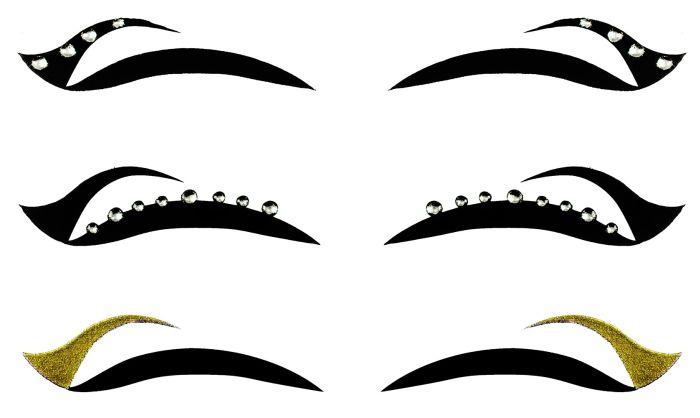 Kit Delineador Adesivo Para Os Olhos Eye 1903