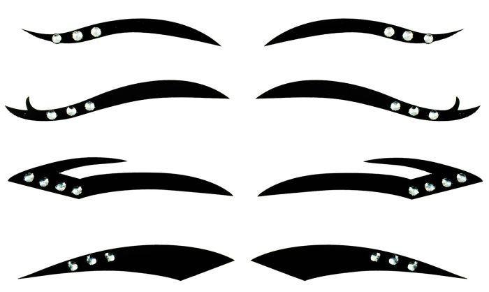 Kit Delineador Adesivo  Para os Olhos  EYE-1904