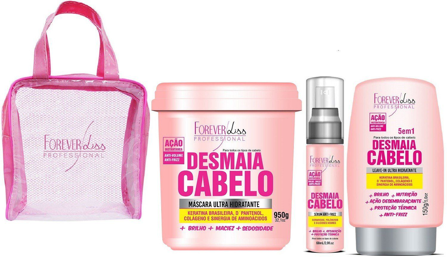 Kit Desmaia Cabelo - Forever Liss