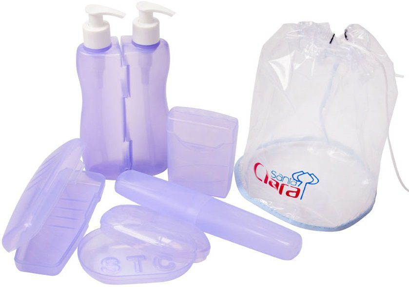 Kit Higiene Luxo Com 05 Peças - Santa Clara