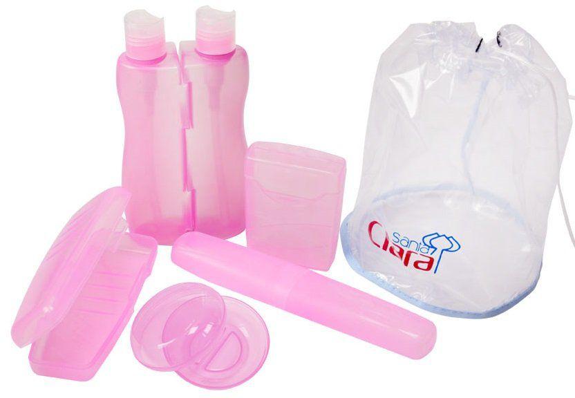 Kit Higiene Luxo Simples Com 05 Peças - Santa Clara