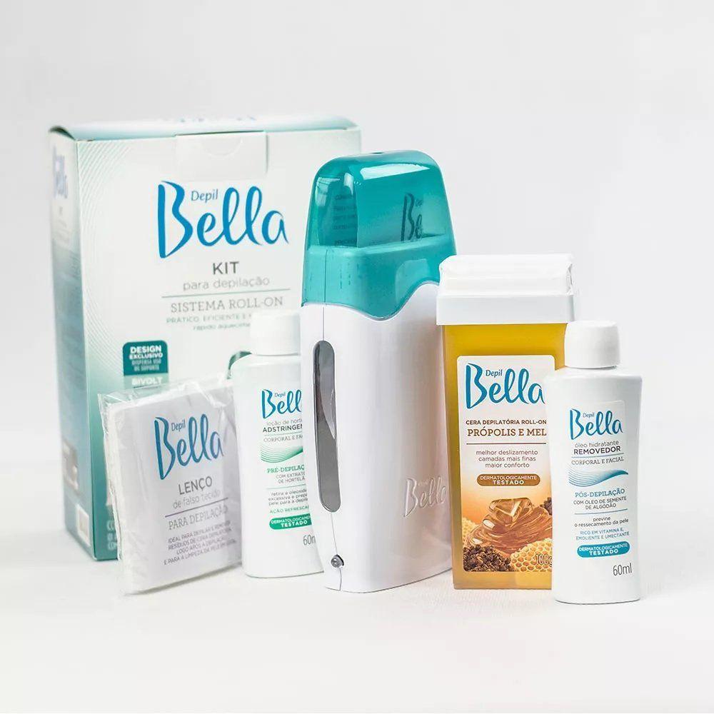 Kit para Depilação Sistema Roll-on Depil Bella