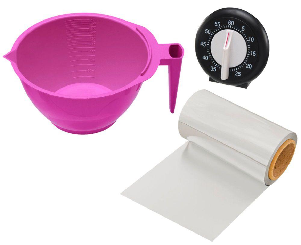 Kit Pink Para Carrinho De Tintura Luxo - Santa Clara