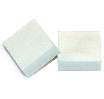 Lixa Para Unha Polidora e Acabamento - Mini Cubo Branco
