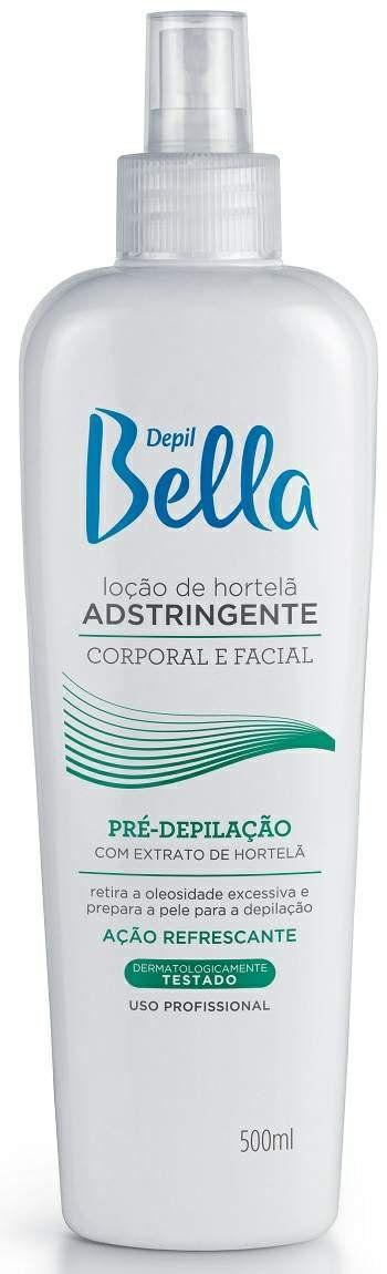 Loção Adstringente de Hortelã Pré-Depilatória Depil Bella