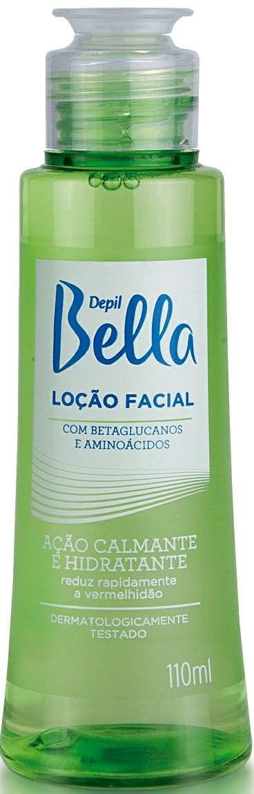 Loção Facial com Betaglucanos Depil Bella - Calmante e Hidratante 110ml