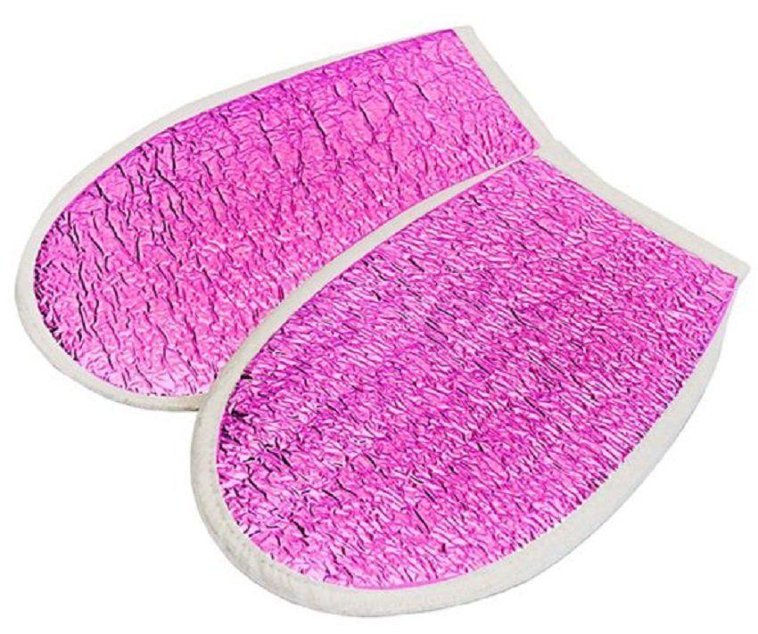 Luva Metalizada Pink Com Isolmanta - Par