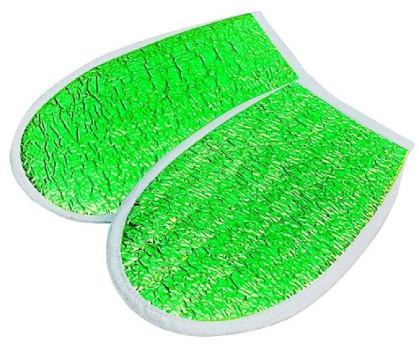 Luva Metalizada Verde Com Isolmanta - Par