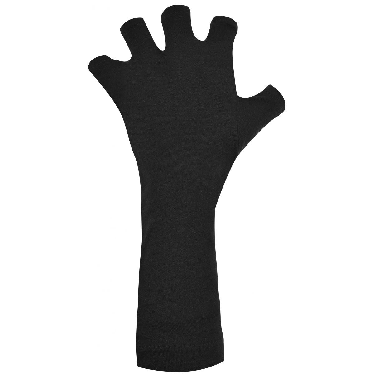 Luva Preta Protetora Das Mãos Para Cabine UV - Santa Clara