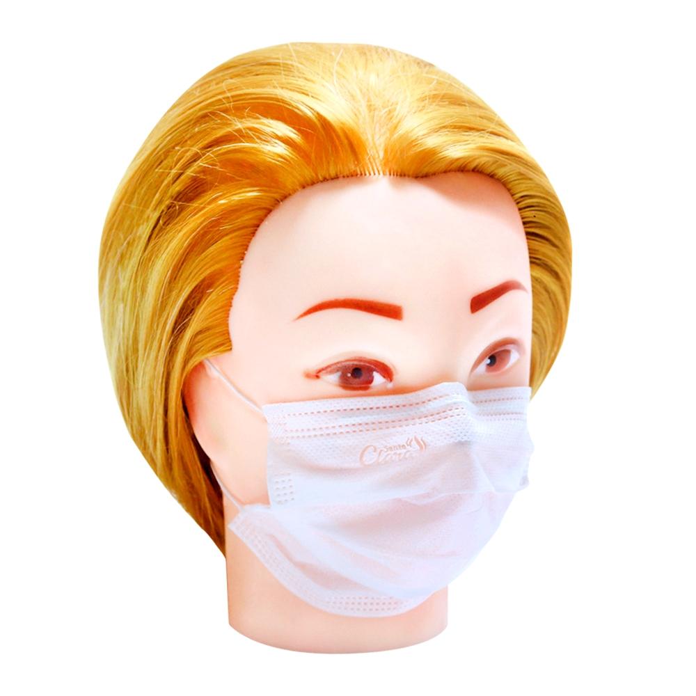 Máscara Descartável De Tamanho Reduzido Para Rostos Pequenos Com 25 Unidades - Santa Clara
