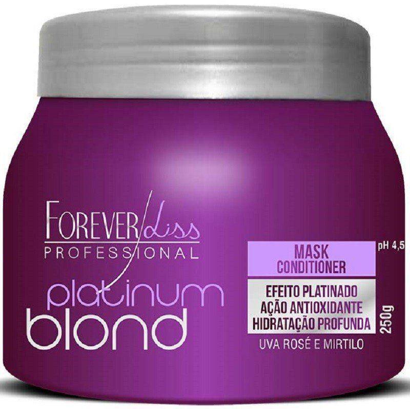 Máscara Matizadora Platinum Blond 250gr - Forever Liss