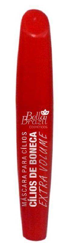 Máscara De Cílios Extra Volume Efeito Cílios de Boneca - Bella Brazil