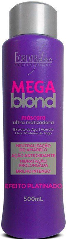 Mega Blond Ultra Matizador 500gr – Forever Liss
