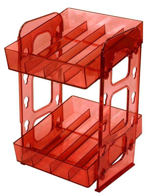 Mini Display Vermelho para esmaltes – Santa Clara