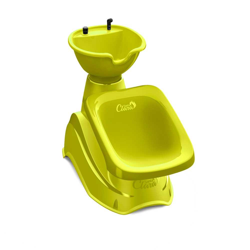 Mini Lavatório de Brinquedo Verde Limão - Santa Clara