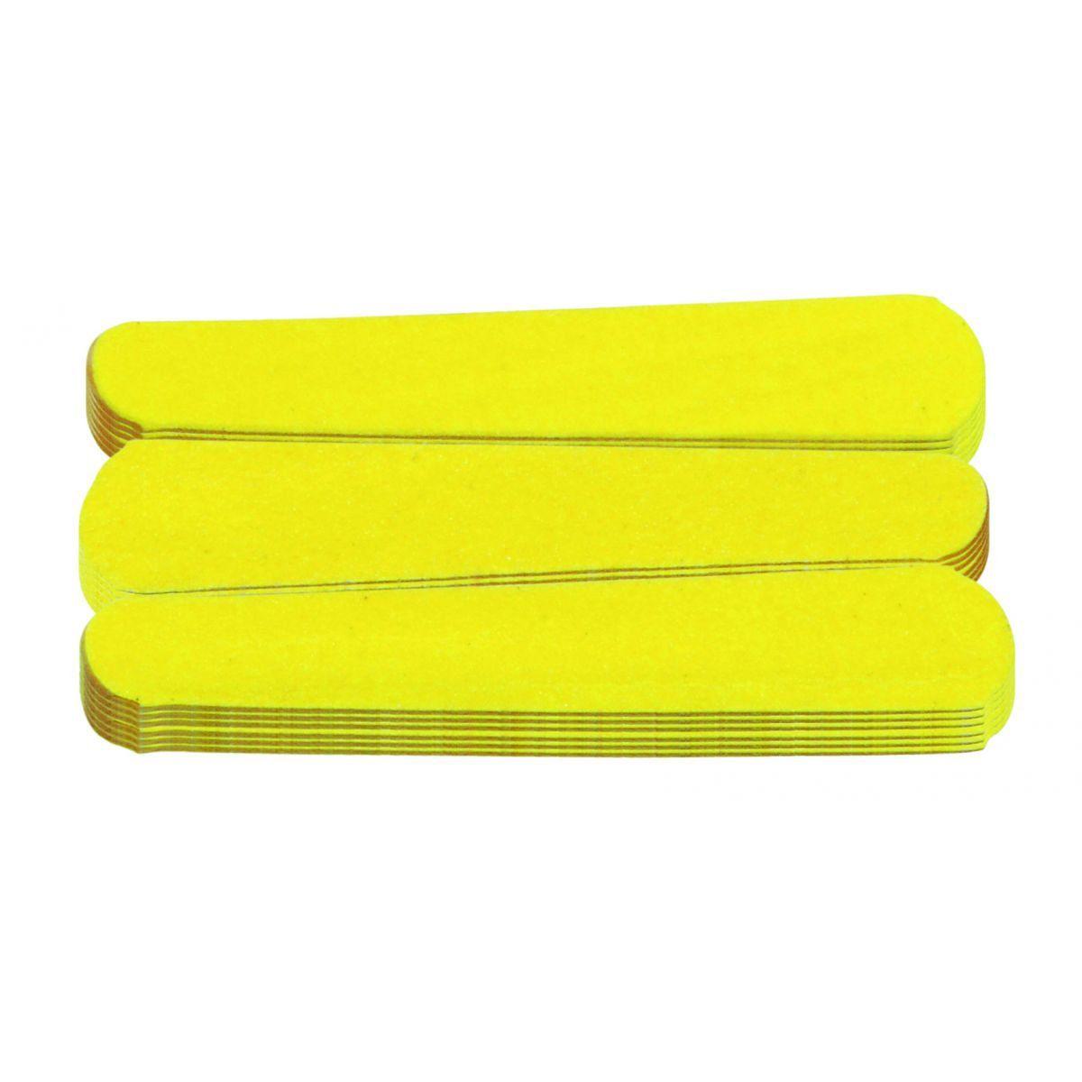 Mini Lixa Amarelo Canário Para Unhas 20 Unidades - Santa Clara