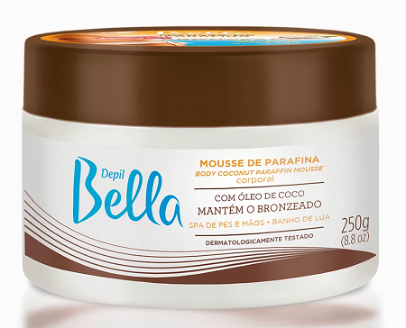 Mousse De Parafina Depil Bella Óleo De Coco 250g