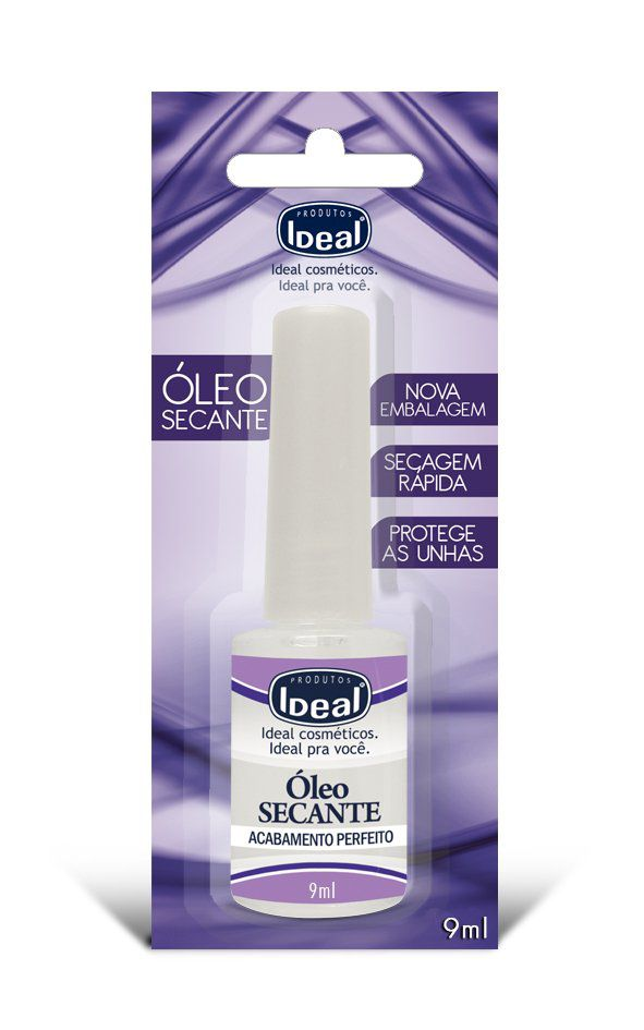 Óleo Secante 9 ml - Ideal