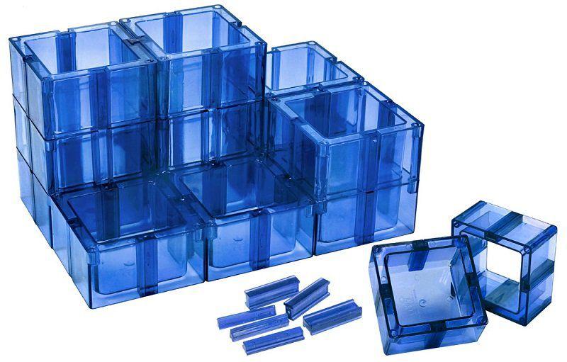 Organizador Multiuso Azul Montável - Santa Clara