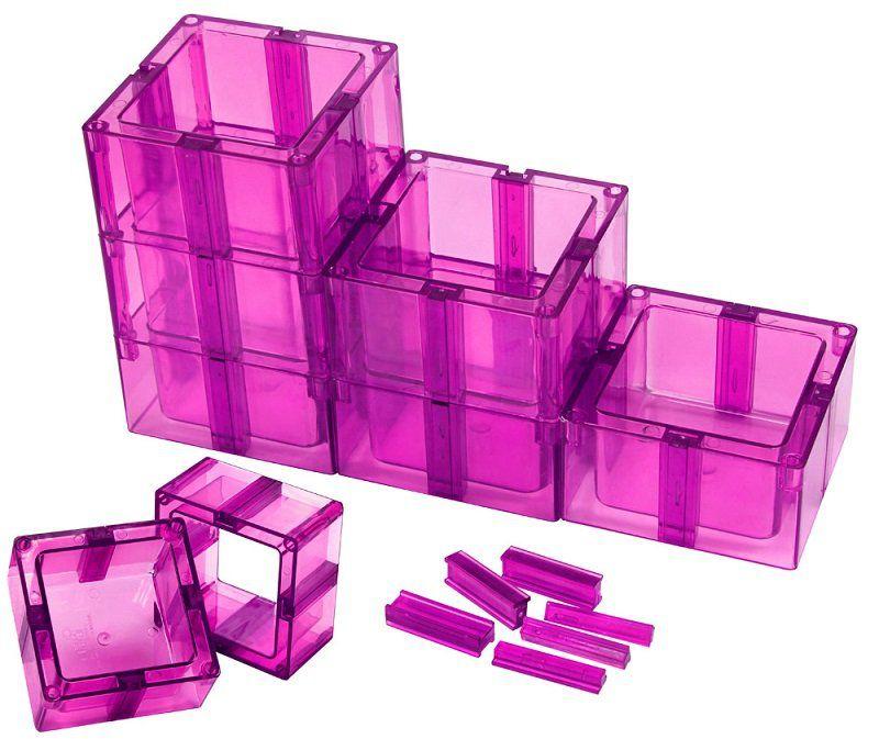 Organizador Multiuso Montável Com Fundo Pink - Santa Clara