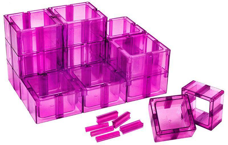 Organizador Multiuso Pink Montável Santa Clara
