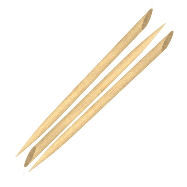 Palito Chanfrado De Bambu Para Unha 50 Unidades Pequeno - Santa Clara