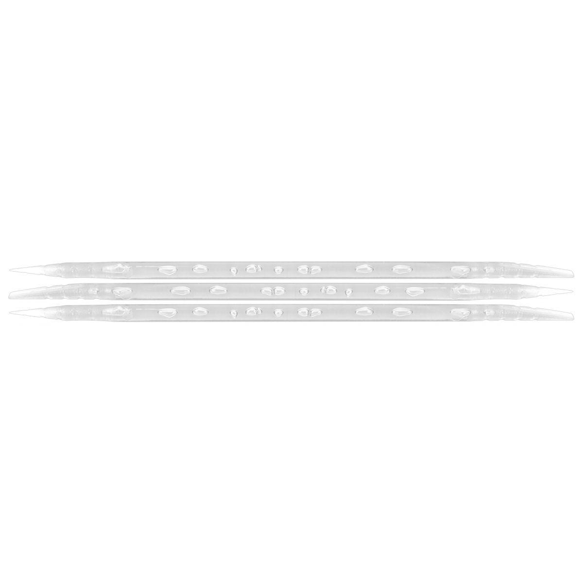 Palito Plástico Transparente Para Manicure Descartável 100 Unidades