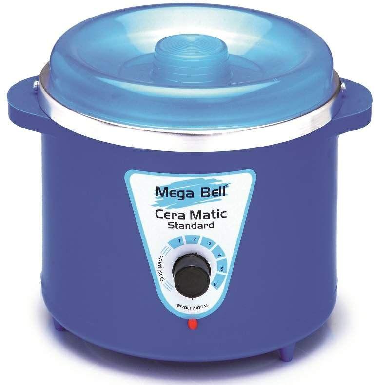 Panela Termocera para depilação Standard 700g - Bivolt Corpo Azul Sem Refil