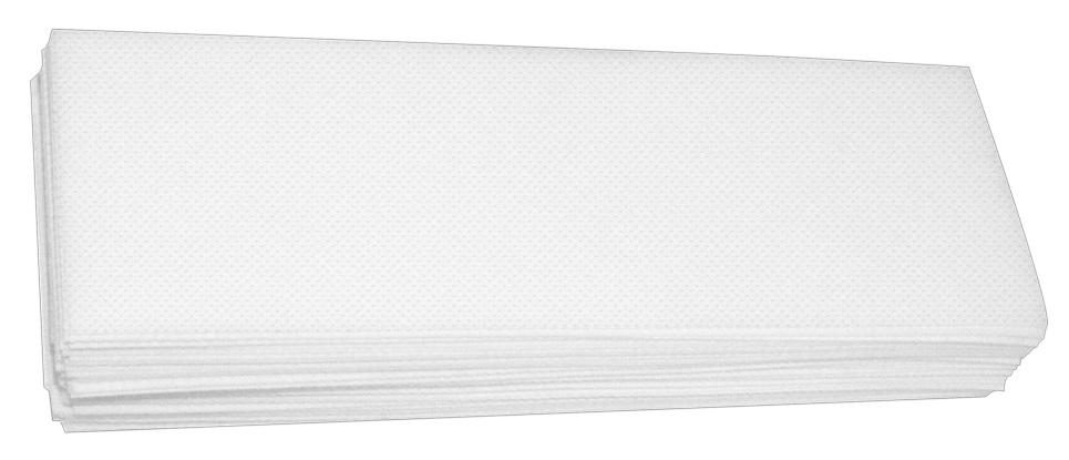 Papel Perlon Para Depilação Lenço Gramatura 80 Com 100 Unidades
