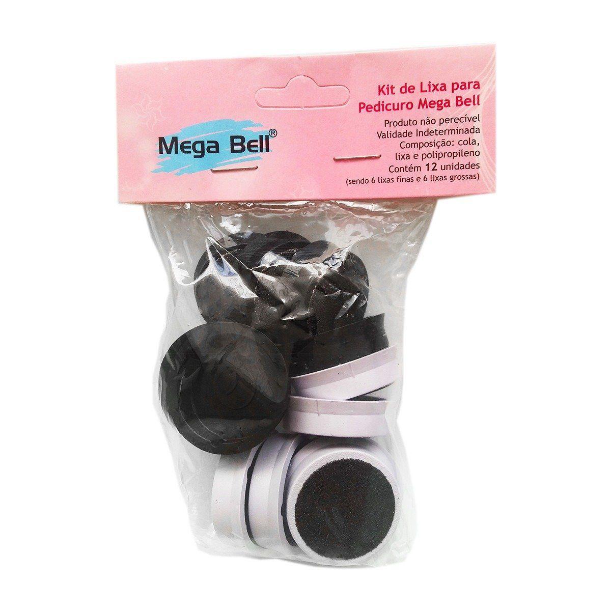 Pedicuro Elétrico Esfoliador Lixa Elétrica para os Pés Branco + 36 Lixas Descartáveis (Escolha a Voltagem)