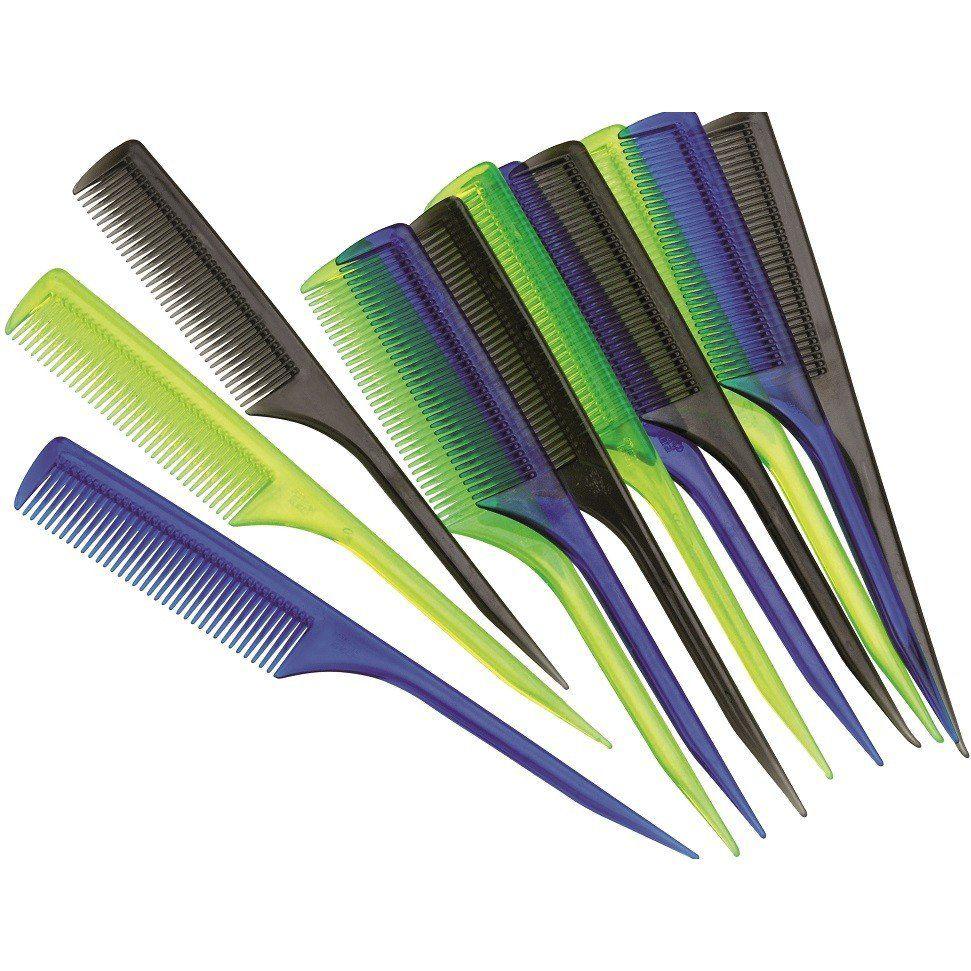 Pente CP Corte/Tintura De Cristal Ou Plástico - 01 Ou 12 Unidades