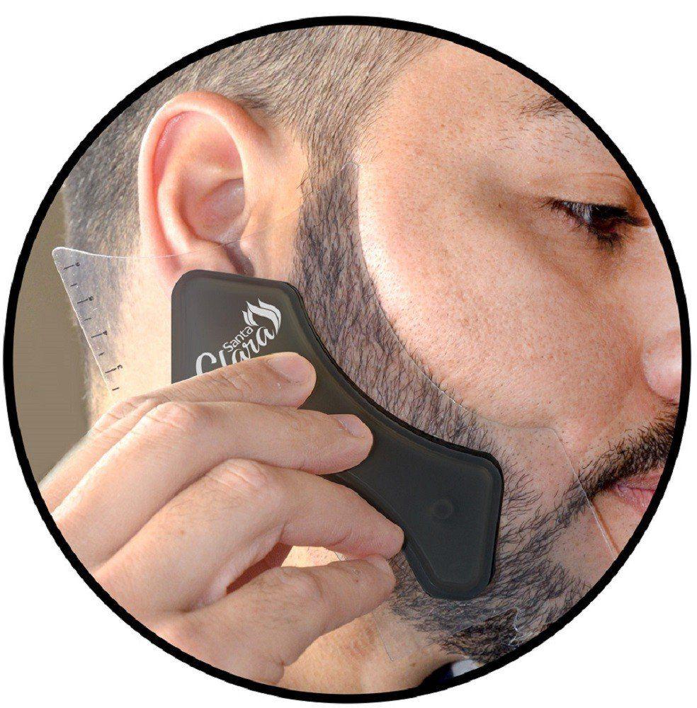 Pente Modelador Milão Para Barba - Santa Clara