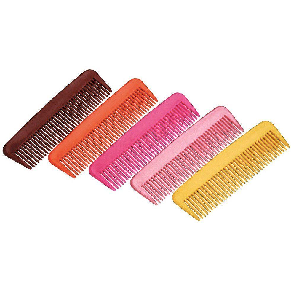Pente Plástico De Cabelos Para Necessaire - 01 Ou 12 Unidades